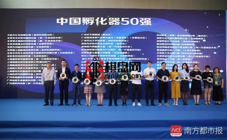 2018年首份中国孵化器50强报