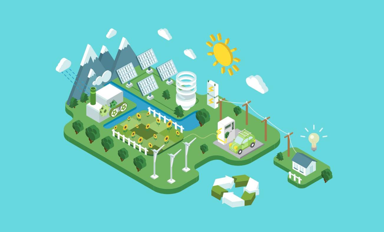 追求绿色发展繁荣 做强做大绿色经济